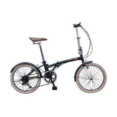 Sepeda Lipat London Taxi - Green Free Ongkir JADETABEK
