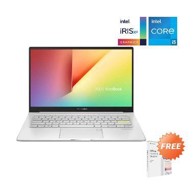 Asus S333EA-EG551TS Notebook - White [i5-1135G7/ 8 GB/ 512 GB SSD/ Intel IrisXe 80EU/ 13.3 Inch FHD/ Win10/ Office Home Student] --