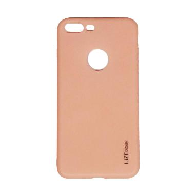 Lize Silicon Softcase Casing for iPhone 7G Plus 5.5 Inch - Pink
