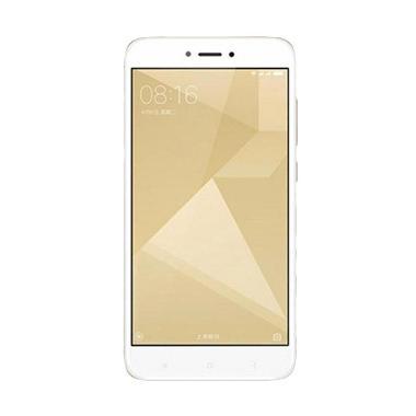 Xiaomi Redmi 4X Smartphone - Gold [32 GB/ 3 GB Garansi Resmi TAM]