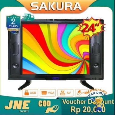 harga Weyon Sakura TV LED 24 inch HD Ready Televisi Murah(TCLG-S24AWIDE) Blibli.com