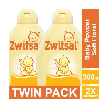 Zwitsal Classic Baby Powder Soft Floral [300 g/2 pcs] 60024446