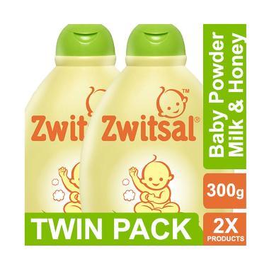 Zwitsal Natural Milk & Honey Baby Powder [300 g/2 pcs] 60024454