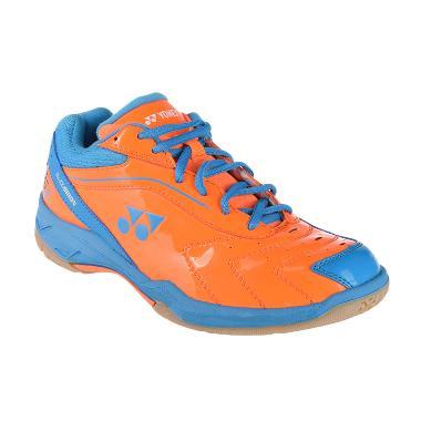 Yonex SRCI 65R Sepatu Badminton - Orange Blue BSHSRCI65RZZ-ORBLZZ