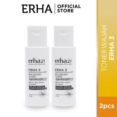 ERHA Value Pack Toner Wajah [60 mL- 2 Pcs]