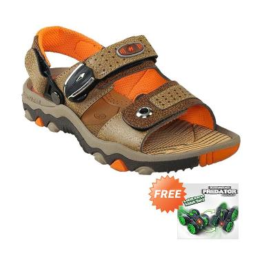 Homyped Shooter 01 Sandal Gunung Anak - Brown