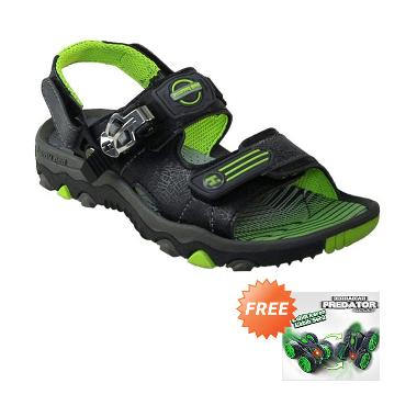 Homyped Shooter 02 Sandal Gunung Anak - Black