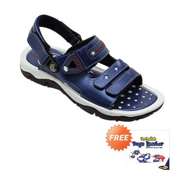 Homyped Captain 01 Sandal Gunung Anak - Navy