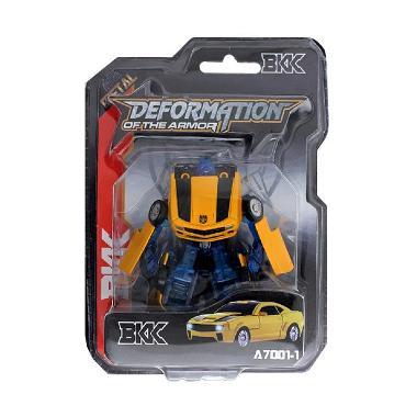 YUGI Mobil Robot Transformer Mainan Anak