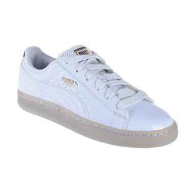 Puma x Careaux Basket Halogen Sepatu Olahraga Wanita - Blue 362712 01