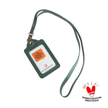 harga BLANKENHEIM Original Leather ID Card Holder - Green Blibli.com
