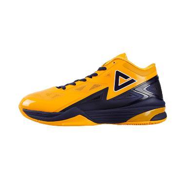 Peak Lightning George Hill Sepatu Basket - Orange E41053A