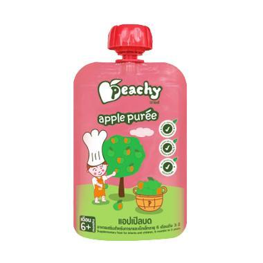 Peachy Apple Puree Snack Bayi