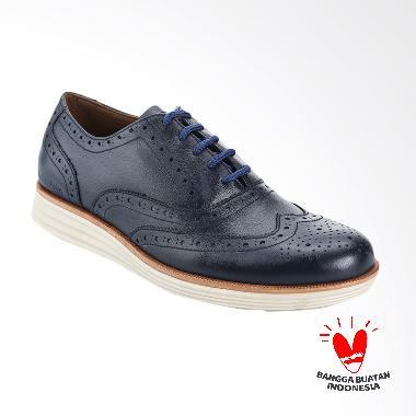 BLANKENHEIM Wingtip Sneaker Kulit S ... Blue [Pre-Order/Original]