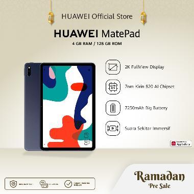 Huawei MatePad Tablet [4GB/ 128GB] 10.4 Inch | Tuned by Harman Kardon | 7250 mAh Big Battery | Midnight Grey