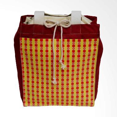 HUSK Joy 2 in 1 Tote & Ransel  Serut Backpack Wanita - Merah