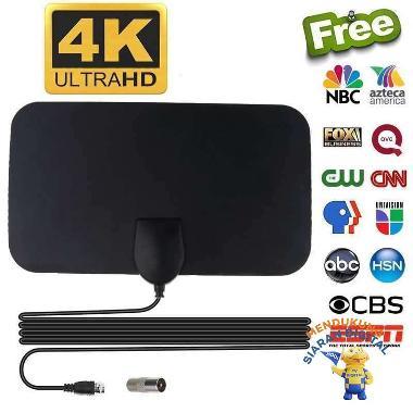 harga ANTENA TV DIGITAL INDOOR DVB-T2 4K HIGH GAIN 25DB PENANGKAP SINYAL CHANNEL DALAM RUANGAN TELEVISI Blibli.com