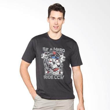 Cleveland Weirdo Skull CCW T-Shirt - Grey
