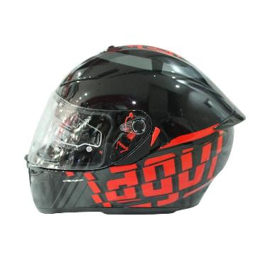 925f5e458 AGV K3 SV Myth Helm Full Face - Black Grey Red