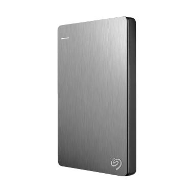 Seagate - Backup Plus Slim HD Ekste ... 0301] Silver + Free Pouch
