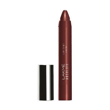 Lakme Absolute Lip Pout Creme Lipstick - Plum Rush