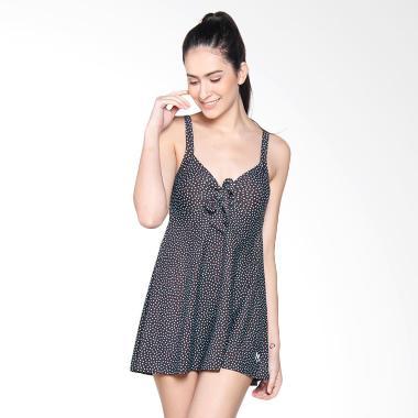 Lasona SWJ-2838-L0733 Baju Renang Rok Wanita - Dark Brown