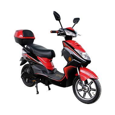 Selis Type New Elang Sepeda Motor Listrik - Red