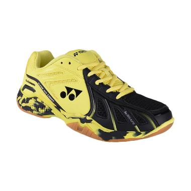 YONEX Men Super Ace Light Sepatu Badminton Pria - Yellow Black