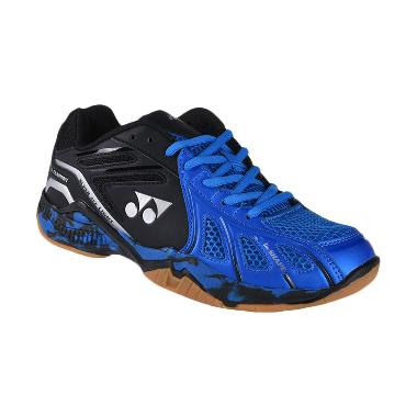 YONEX Men Super Ace Light Sepatu Badminton Pria - Deep Blue Black