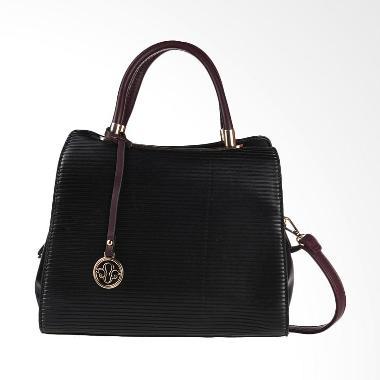 Papercut Bags GZ 02 YLS 2877 Square Hand Bag - Black