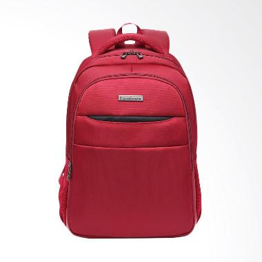 Luminox Tas Ransel Laptop Backpack - Merah Up to 15 inch Anti Air 5912