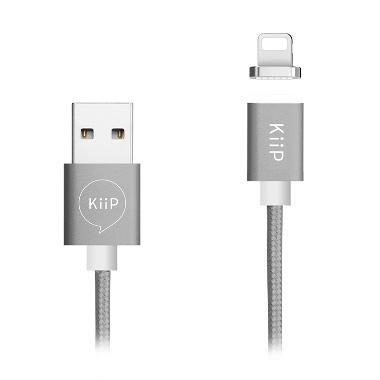 KIIP Magnetic Cable Lightning GREY