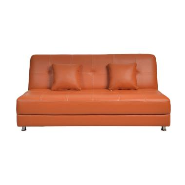 Olc Luxio Sofa Bed - Coklat [Khusus Jabodetabek]