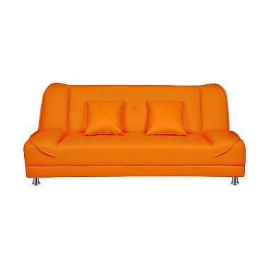 Ivaro Pumpkin Sofa - Orange