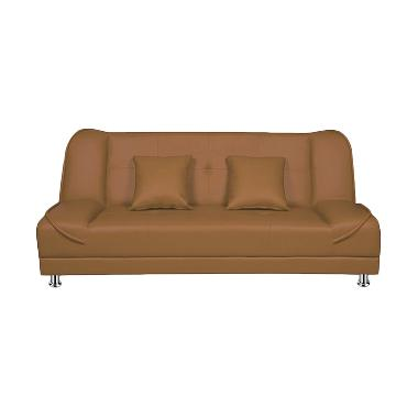 Ivaro Pumpkin Sofa - Brown