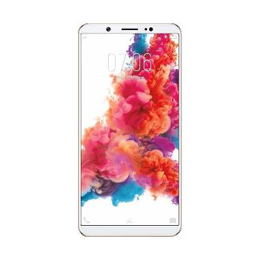 Vivo V7 Plus Smartphone - Gold [64GB/4GB] + Micro SD 32 GB + Powerbank