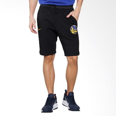 NIKE Men Basketball Golden State Warriors Modern Short Fit Celana Basket Pria [860414-010]