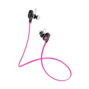 QCY QY7 Bluetooth Headset - Pink