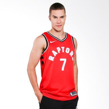 69fca6191 FS 10.10 - NIKE Men Basketball Kyle Lowry Toronto Raptors Swingmen Road  Jersey Basket Pria  864511-657