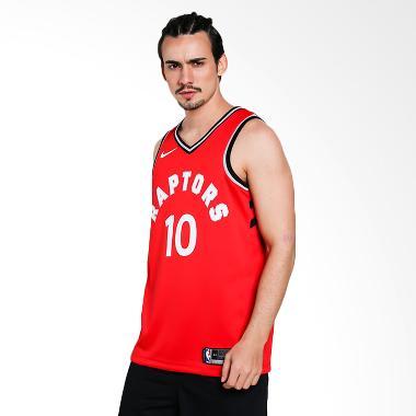 04f79b60b NIKE Men Basketball Demar DeRozan Toronto Raptors Swingmen Jersey Road  Jersey Basket Pria  864511-658