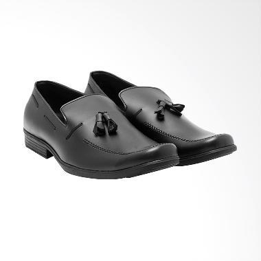 Edberth Budapest Sepatu Formal Pria - Black