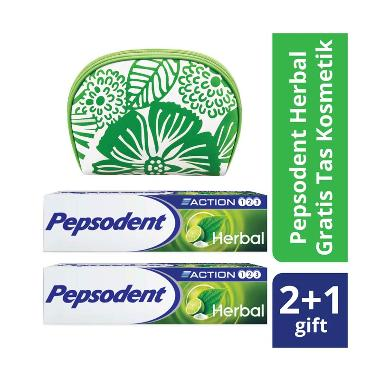 SIKAT GIGI FAMILY MEDIUM. Source · PEPSODENT Action 123 Herbal Toothpa . fded3541bb