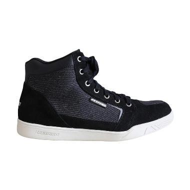 Respiro D-Trenz Betha Denim Sepatu Boot - Black White
