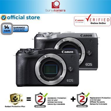 harga BKP Canon EOS M6 Mark II Mirrorless Digital Camera BLACK Blibli.com