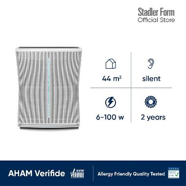 Stadler Form Roger Air Purifier [Dual Filter] Silver/ Black