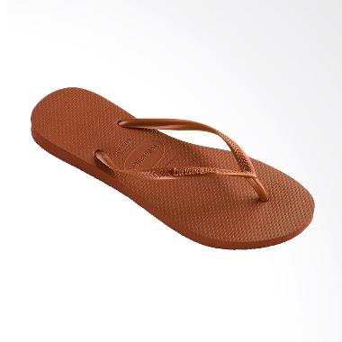 Havaianas Slim 1976 Sandal Flip Flop Wanita - Rust
