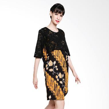 seruni-batik_seruni-batik-adonica-dress-btkv-17-11-03-dress---black-ladies_full07 Ulasan Harga Baju Batik Wanita Yang Bagus Terbaru tahun ini