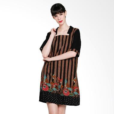 Seruni Batik Alanza Dress BTKV 17-11-05 Dress - Black