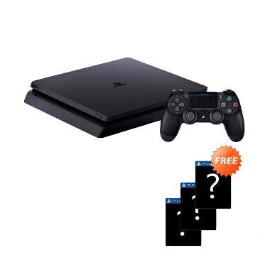 SONY PlayStation 4 Slim CUH-2106A G ... GB] + Free 3 Games Random