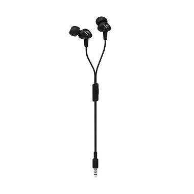 harga JBL C100SI Handsfree In-Ear with Mic Headset - Black Blibli.com